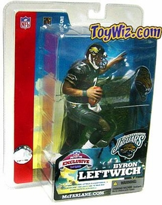 McFarlane Toys NFL Sports Picks Super Bowl XXXIX 39 Exclusive Action Figure Byron Leftwich (Jacksonville Jaguars)