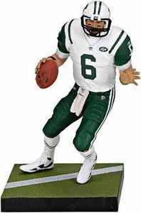 McFarlane Toys NFL Sports Picks LOOSE Action Figure Mark Sanchez (New York Jets) White Jersey