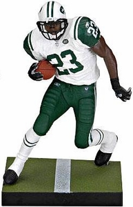 McFarlane Toys NFL Sports Picks LOOSE Action Figure Shonn Greene (New York Jets) White Jersey