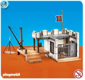 Playmobil Pirates Set #7376 Pirates Prison Fortress