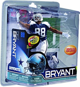 McFarlane Toys NFL Sports Picks Collectors Club Exclusive Action Figure Dez Bryant (Dallas Cowboys) Thanksgiving Day Jersey