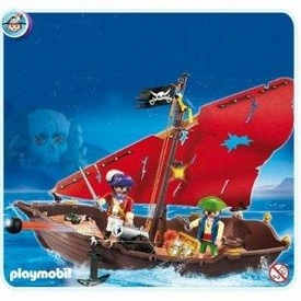 Playmobil Pirates Set #4444 Pirate Dinghy
