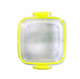 Iwako Japanese Eraser Case Yellow [Square]