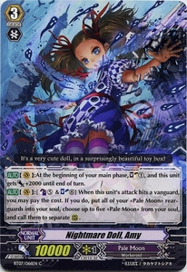 Cardfight Vanguard ENGLISH Rampage of the Beast King Single Card Common BT07-066EN Nightmare Doll, Amy