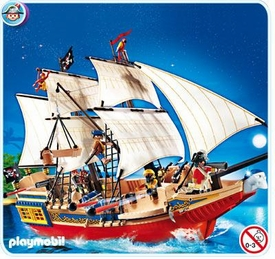 Playmobil Pirates Set #4290 Pirate Ship