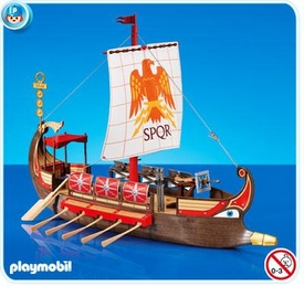 Playmobil Set #7512 Roman Galley Ship