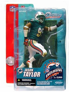 McFarlane Toys NFL Sports Picks Super Bowl XLI 41 Exclusive Action Figure Jason Taylor (Miami Dolphins)