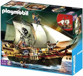 Playmobil Pirates Set #5135 Pirate Ship