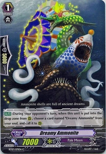 Cardfight Vanguard ENGLISH Rampage of the Beast King Single Card Common BT07-071EN Dreamy Ammonite