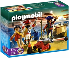 Playmobil Pirates Set #5136 Pirates Commander with Armory