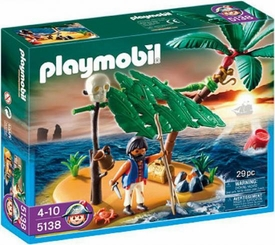 Playmobil Pirates Set #5138 Cast Away on Palm Island