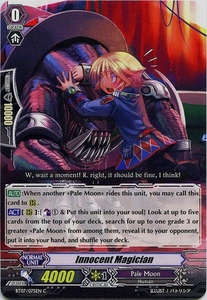 Cardfight Vanguard ENGLISH Rampage of the Beast King Single Card Common BT07-075EN Innocent Magician