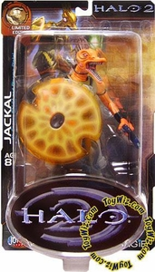 Halo 2 Action Figure Limited Edition Series 1 Jackal Major