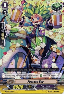 Cardfight Vanguard ENGLISH Rampage of the Beast King Single Card Common BT07-078EN Popcorn Boy