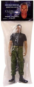 Diamond Select Toys Stargate SG-1 Action Figure FCBD Exclusive General Jack O'Neill (T-Shirt Version)