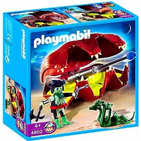 Playmobil Pirates Set #4802 Shell with Cannon