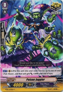 Cardfight Vanguard ENGLISH Rampage of the Beast King Single Card Common BT07-079EN Poison Juggler