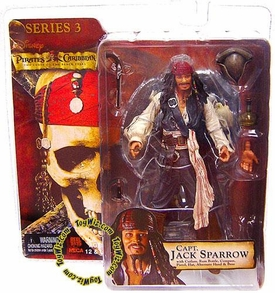 NECA Pirates of the Caribbean Curse of the Black Pearl Series 3 Action Figure Jack Sparrow