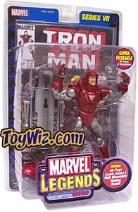 Marvel Legends Series 7 Action Figure Silver Centurion Armor Iron Man