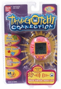 Tamagotchi Connection 'V2' Version 2 Virtual Pet Toy Pink with Lips