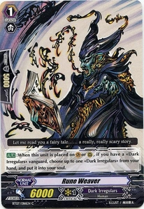 Cardfight Vanguard ENGLISH Rampage of the Beast King Single Card Common BT07-086EN  Rune Weaver