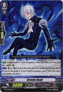 Cardfight Vanguard ENGLISH Rampage of the Beast King Single Card Common BT07-087EN  Greedy Hand