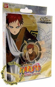 Naruto Card Game Chosen Theme Deck Gaara's Gale Force Deck A