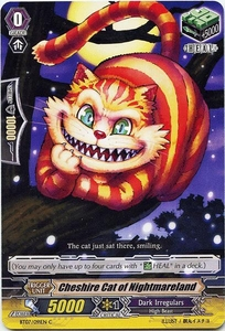 Cardfight Vanguard ENGLISH Rampage of the Beast King Single Card Common BT07-091EN  Cheshire Cat of Nightmareland