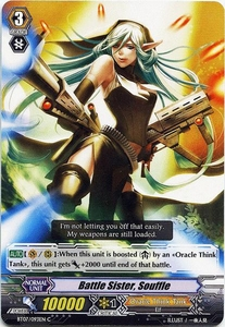 Cardfight Vanguard ENGLISH Rampage of the Beast King Single Card Common BT07-093EN  Battle Sister, Souffle