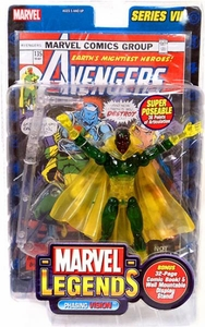 Marvel Legends Series 7 Action Figure Vision Phasing Variant
