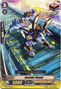 Cardfight Vanguard ENGLISH Rampage of the Beast King Single Card Common BT07-099EN  Speeder Hound