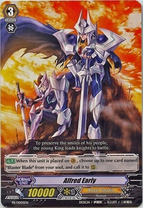 Cardfight Vanguard ENGLISH Rampage of the Beast King Single Card Promo PR-0005EN  Alfred Early