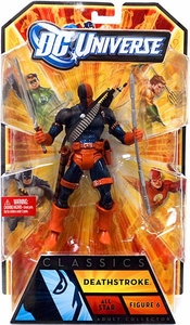 DC Universe Classics All Star Action Figure Deathstroke [No Build A Figure Piece!]