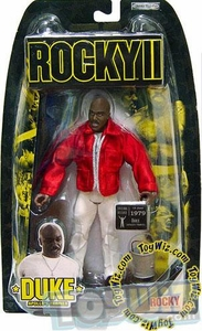 Jakks Pacific Rocky II (Series 2) Action Figure Duke [Apollo Creed's Trainer]