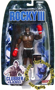 Jakks Pacific Rocky III (Series 3) Action Figure Clubber Lang in Fight Gear [Mr. T]