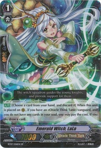 Cardfight Vanguard ENGLISH Rampage of the Beast King Single Card SP Rare BT07-S06EN Emerald Witch, LaLa