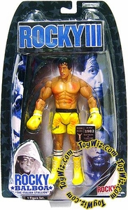 Jakks Pacific Rocky III (Series 3) Action Figure Rocky (Battle Damaged)
