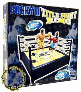Jakks Pacific Rocky III Title Fight Boxing Ring [Italian Stallion]