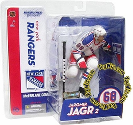 McFarlane Toys NHL Sports Picks Series 10 Action Figure Jaromir Jagr (New York Rangers) White Jersey Variant