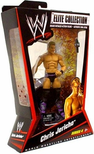 Mattel WWE Wrestling Elite Series 4 Action Figure Chris Jericho [Purple Boots]