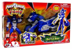 Power Rangers Jungle Fury Cycles Jaguar Battle Bike