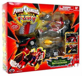 Power Rangers Jungle Fury Animal Vehicles Jungle Master Battlecruiser