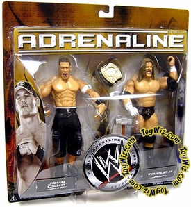 WWE Jakks Pacific Wrestling Adrenaline Series 20 Action Figure 2-Pack John Cena & Triple H