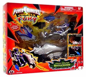 Power Rangers Jungle Fury Animal Vehicles Jungle Predator Battlecruiser