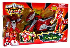 Power Rangers Jungle Fury Cycles Tiger Battle Bike