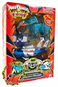 Power Rangers Jungle Fury Deluxe Transforming Roar Max Megazord