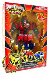 Power Rangers Jungle Fury Deluxe Transforming Jungle Pride Megazord
