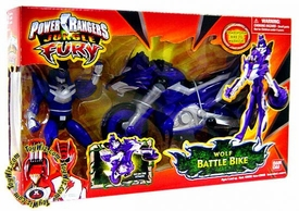 Power Rangers Jungle Fury Cycles Wolf Battle Bike