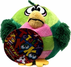 Totally KooKoo Mini Talking Plush Wide Eyed, Hook Billed Lollapalooza