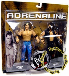 WWE Jakks Pacific Wrestling Adrenaline Series 18 Action Figure 2-Pack Animal & Johnny Nitro [John Morrison]